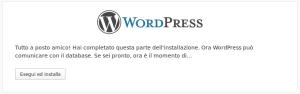 Installazione di WordPress - 4