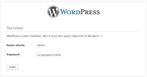 Installazione di WordPress - 6